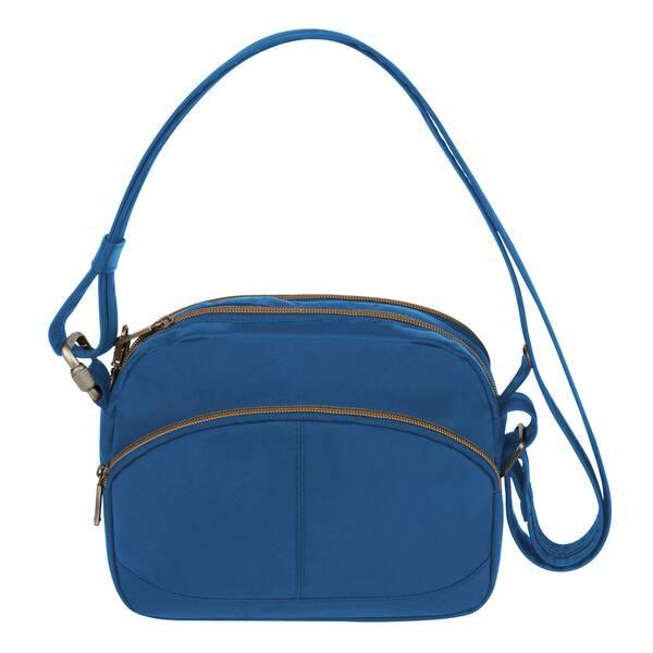 b4a0c3ebb Shop Travelon Anti-theft Signature East/West Shoulder Bag - Free ...