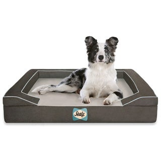 Sealy Lux Quad-layered Orthopedic Foam Large Dog Bed