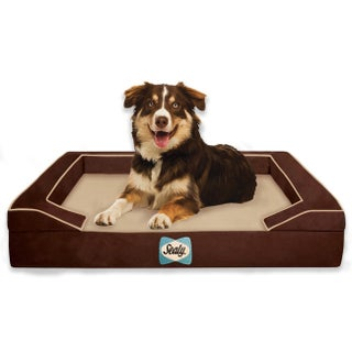 Sealy Lux Quad-layered Orthopedic Foam Large Dog Bed (2 options available)