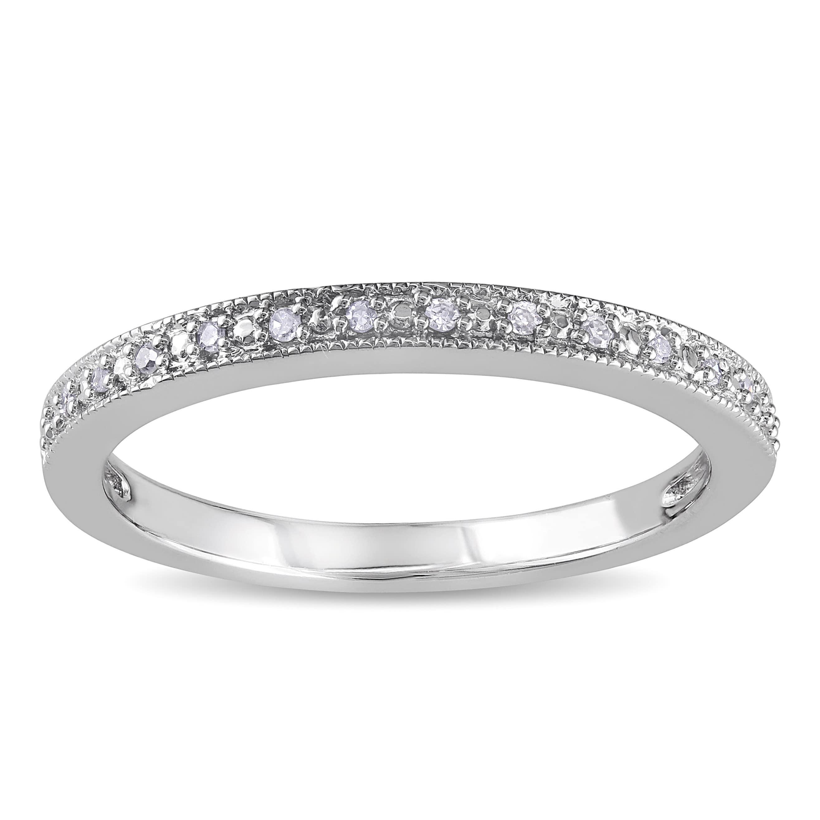 10k Women S Wedding Bands Bridal Rings For Less