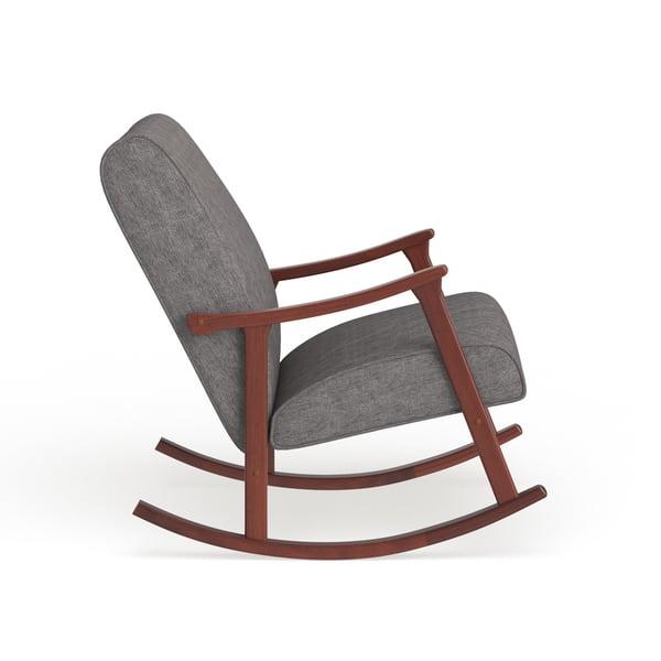 Remarkable Shop Carson Carrington Granite Grey Fabric Mid Century Short Links Chair Design For Home Short Linksinfo