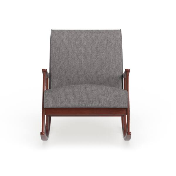 Fabulous Shop Carson Carrington Granite Grey Fabric Mid Century Short Links Chair Design For Home Short Linksinfo