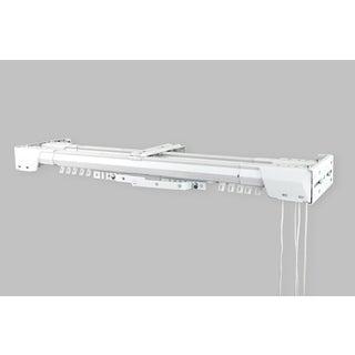 InStyleDesign White Heavy Duty-double Traverse Rod (Center Open)
