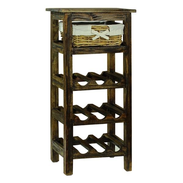 Attrayant Monet Brown Wine Rack