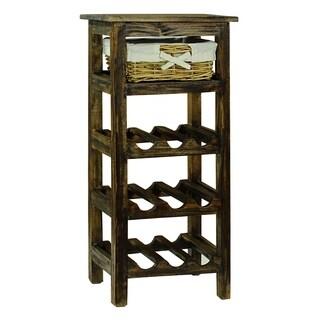 Monet Brown Wine Rack
