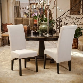 Morgan Fabric Dining Chair Set Of 2 By Christopher Knight Home