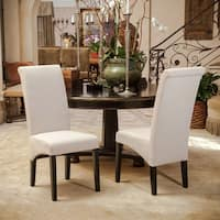 Morgan Fabric Dining Chair (Set of 2) by Christopher Knight Home - N/A