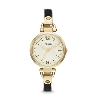Fossil Women's ES3421 Georgia Three-hand Bangle Watch