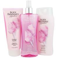 Body Fantasies Cotton Candy Women's 3-piece Fragrance Set