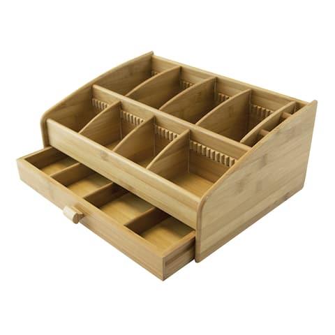 Le Chef Bamboo Storage Organizer - N/A