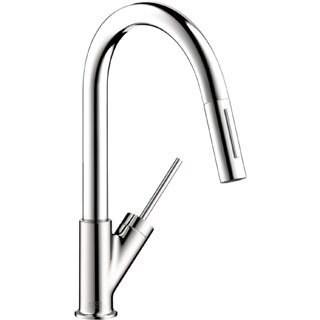 Hansgrohe Axor Starck Higharc Prep Kitchen Chrome Faucet