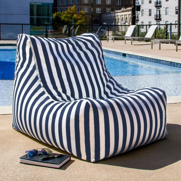 Fantastic Shop Jaxx Ponce Outdoor Bean Bag Patio Chair On Sale Caraccident5 Cool Chair Designs And Ideas Caraccident5Info