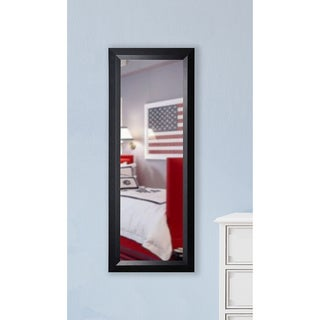 American Made Rayne Black Angle Slender Body Wall/ Vanity Mirror