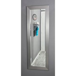 American Made Rayne Silver 21 x 60-inch Slender Body Mirror