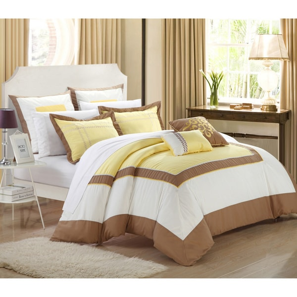 Chic Home Palace Embroidered 7-piece Comforter Set