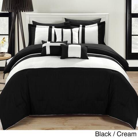Porch & Den Fruita 10-piece Comforter and Sheet Set