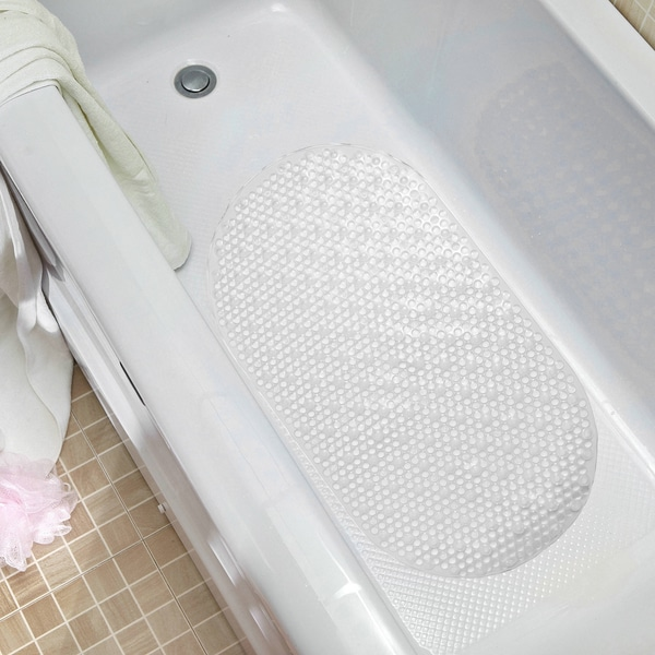 Non Slip Clear Bubble Bath Mat Free Shipping On Orders