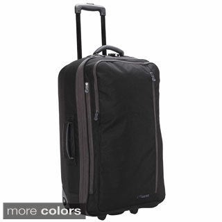 LiteGear 26-inch Medium Lightweight Hybrid Rolling Upright Suitcase