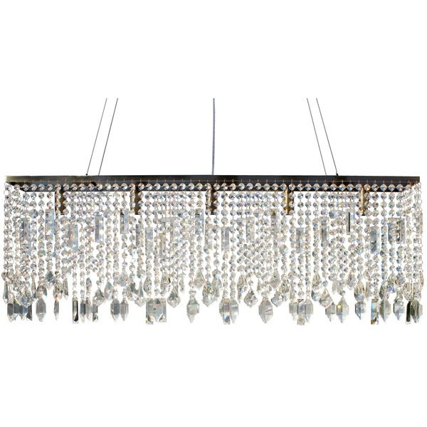 Shop 40 inch antique brass suspension linear chandelier on sale 40 inch antique brass suspension linear chandelier aloadofball Choice Image