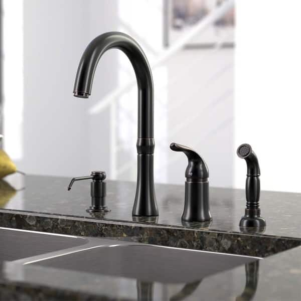Shop Sir Faucet 4 Hole Widespread Kitchen Faucet Overstock 9371913