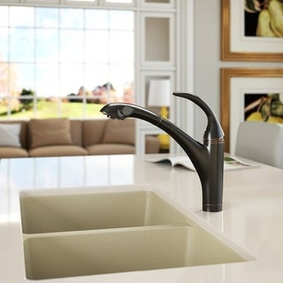 Sir Faucet 765 Solid Brass Pull-out Spray Kitchen Faucet
