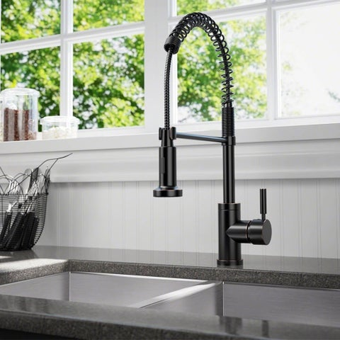 Sir Faucet 766 Solid Brass Spring-spout Kitchen Faucet