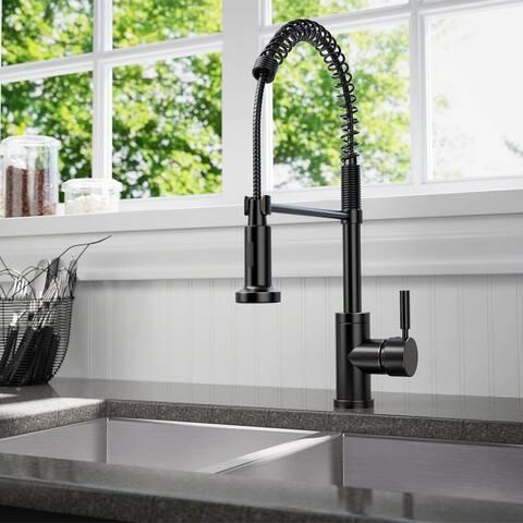 Sir Faucet 766 Spring-spout Kitchen Faucet