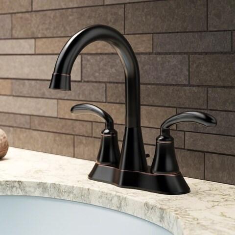 Sir Faucet 7042 Brass Double Handle Bathroom Faucet