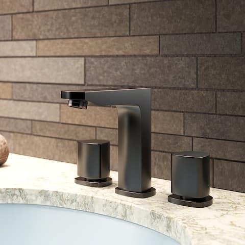 Sir Faucet 728 Widespread Double Knob Bathroom Faucet