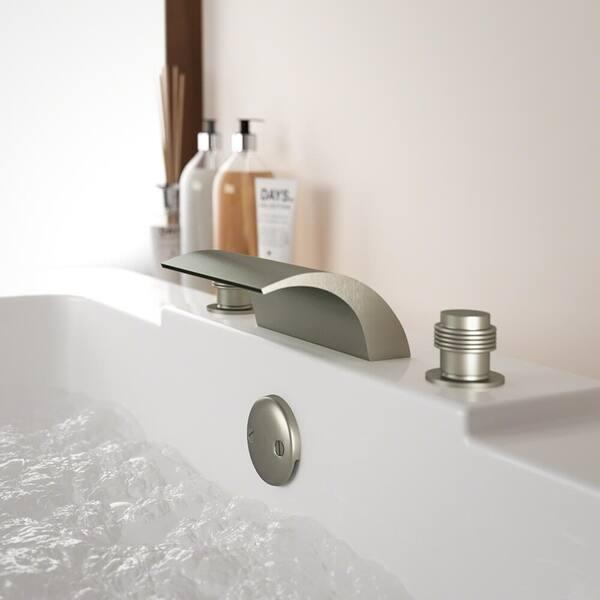 Roman Tub Filler Bathroom Faucet