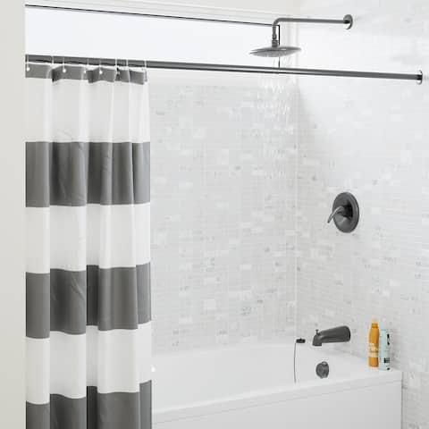 Sir Faucet 750 Rain Head 3-piece Shower Set