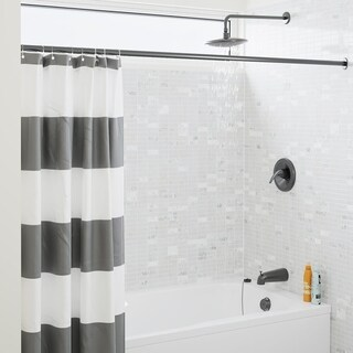Sir Faucet 750 Rain Head 3-piece Shower Set