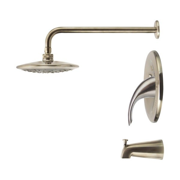 three piece shower faucet. Sir Faucet 750 Rain Head 3 piece Shower Set  Free Shipping Today