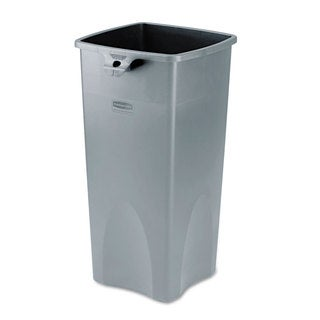 Rubbermaid Commercial 23GL Grey Untouchable Square Container
