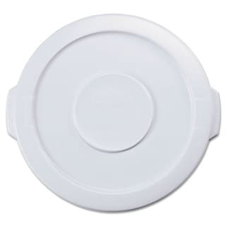Rubbermaid Commercial 16-inch Dia. White Round Brute Lid for 10GL Containers