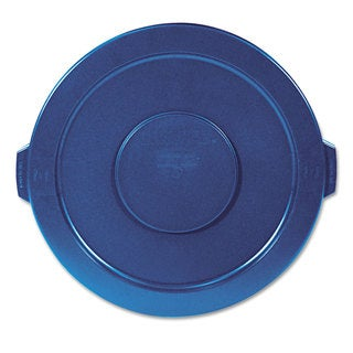 Rubbermaid Commercial Blue 22 1/4-inch Dia. Round Lid for Brute 32GL Waste Containers