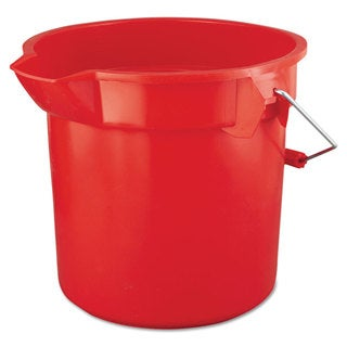 Rubbermaid Commercial Red Brute Round 14-quart Utility Pail