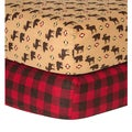 Trend Lab Northwoods Checkered Flannel Sheet (2 Pack)