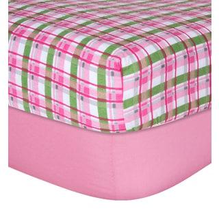 Trend Lab Animal Print Flannel Crib Sheet Set Pack Of 3