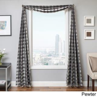 Softline Peyton Wave 6-yard Window Scarf - 214 x 55