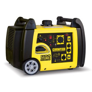 Champion Power Equipment 75537i, Remote Start 3,100-Watt Inverter Generator