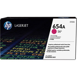 HP 654A Original Toner Cartridge - Magenta