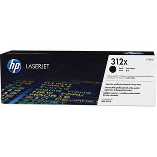 HP 312X (CF380X) High Yield Black Original LaserJet Toner Cartridge