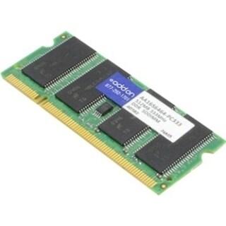 AddOn JEDEC Standard 512MB DDR-333MHz Unbuffered Dual Rank 2.5V 200-p