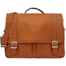 Piel Leather Ultimate Organized Portfolio 2478 Saddle Leather