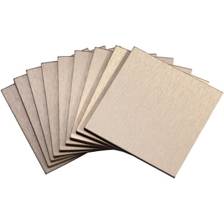 Aspect Champagne Peel and Stick Tiles (6.2 square feet)