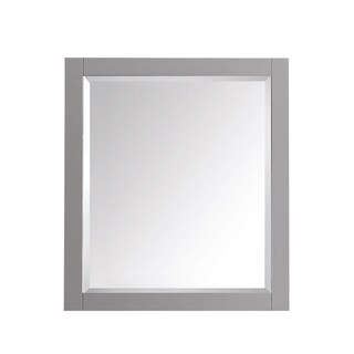 Avanity 28-inch Mirror (Option: Avanity 28 in. Mirror in Chilled Gray finish)