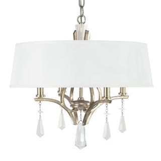Capital Lighting Margo Collection 4-light Winter Gold Dual Mount Pendant