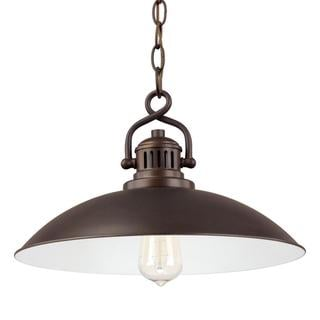 Capital Lighting O'Neill Collection 1-light Burnished Bronze Pendant