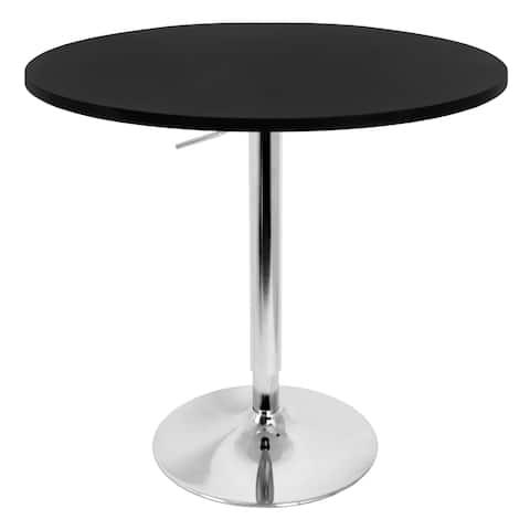 Porch & Den Bixby 27-inch Adjustable Bar Table